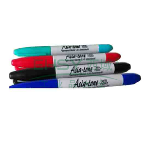 Asia-tone油性笔 双头 0.5-1.0MM