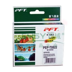 普飞爱普生墨盒,T0822,适配机型EPSON R270/R290/R390/RX590/RX610/RX690