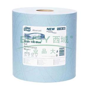 多康 高级工业重任务擦拭纸,蓝色 (340*369mm 750张) 255米/卷 1卷/袋