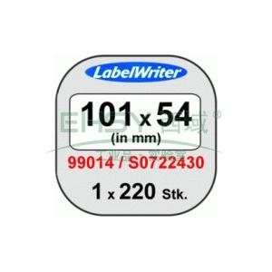 DYMO急件专用标签,101mm x 54mm ,适用LW450 Turbo