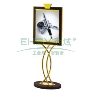 立式指示牌,L775*W540*H1550,钛金