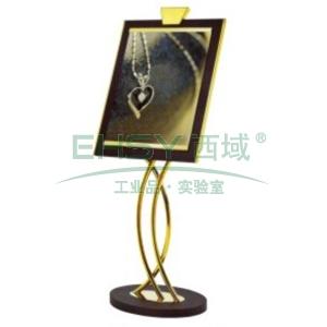 斜面指示牌,L775*W540*H1430,钛金