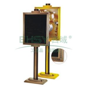 立式指示牌,L820*W590*H620,钛金