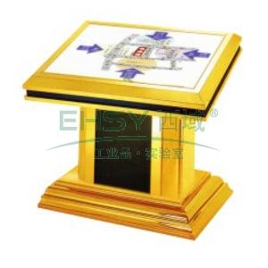 大堂指南灯箱,L1150*W850*H1060,钛金