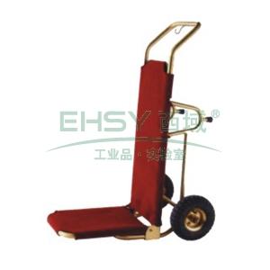 手推行李车,L500*W400*H1220,钛金 单位:个