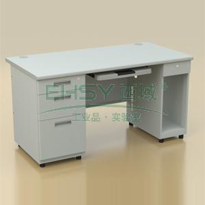 钢制写字台,双边电脑桌1400*700*740mm