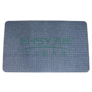 除尘晶钻素面地垫,1.2m*12m,深灰色