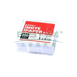 晨光 M&G 96300盒装便签纸 APYGY607 91*87mm (白色) 300张/盒