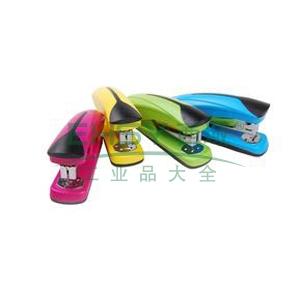 晨光 M&G 炫彩办公订书机 ABS91641 装订能力20页 (红、蓝、绿、黄,颜色随机)