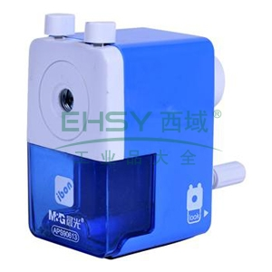 晨光 M&G 削笔器 APS90613 (蓝、粉,颜色随机) 6个/盒