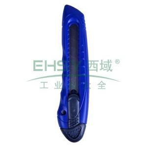 晨光 M&G 推锁美工刀 ASS91322 大号 刀片宽度:18mm (红、黄、蓝,颜色随机) 24把/盒