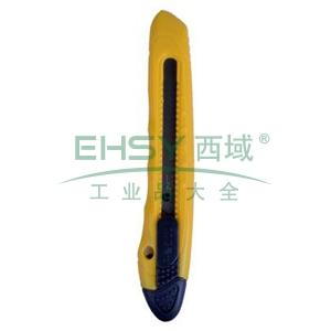 晨光 M&G 推锁美工刀 ASS91323 小号 刀片宽度:9mm (红、黄、蓝,颜色随机) 48把/盒
