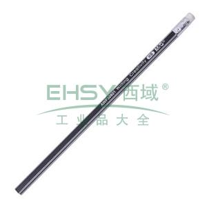 晨光 M&G HB铅笔 AWP30801 (银黑色抽条笔杆) 12支/盒