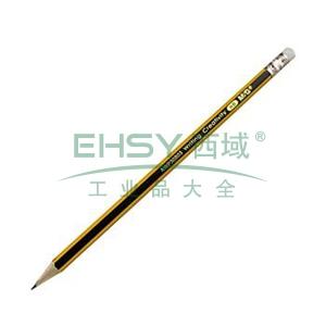 晨光 M&G HB铅笔 AWP30803 (黄黑色抽条笔杆) 12支/小盒
