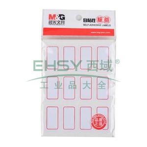 晨光 M&G 自粘性标签 YT-14 12枚X10 32*18mm (红) 10张/包