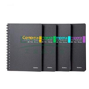 齐心 CPA6507 Compera双螺旋PP面本A6 50页 颜色随机