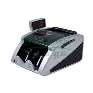 齐心 JBYD-2166(C) 智能红外点钞机 验钞机 双屏 3对磁头2对红外 黑银