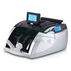 齐心 JBYD-3600(C) 财旺全智能语音型点钞机 验钞机 3磁头2对红外 黑银