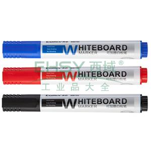 齐心 WB705 可加墨白板笔 匹配墨水M705 黑
