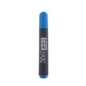 白金 WB-45 白板笔 蓝色  (10支/盒)