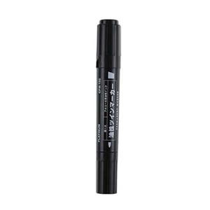 白金 CPM-150 油性大双头记号笔(黑色,10支/盒)