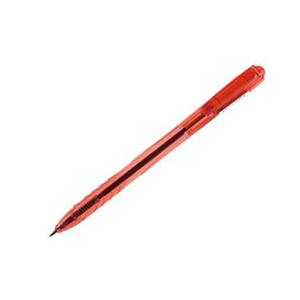 白金 BK-100 按压型0.5圆珠笔(140/0.5笔芯,红色,50支/盒)