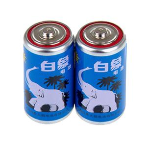 白象 1624-A 碳性电池 1号、1粒