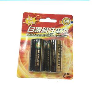 白象 233-2D 碱锰电池 2号、2粒/版