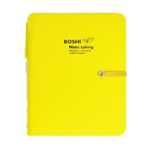 博士 D3696-Y 博士多功能笔记本 36K  105mmX143mmX96张