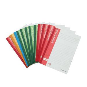 广博(guangbo) GBR0728 A5包背本(50页)(红/蓝/绿/黄)