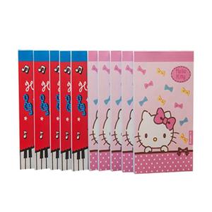 广博 KT81111 kitty猫系列100K软面便签本 7.9*12.2cm,