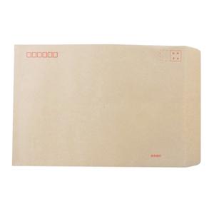 国产 C4 中式牛皮信封 9号 土黄色