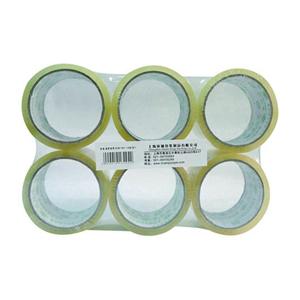 环球   透明封箱带 (1封/6卷) 6CM*40Y 透明色