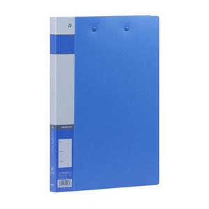 金得利 AF604 板夹+强力夹 A4 长押夹+板夹 蓝色