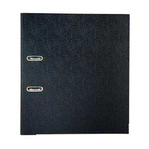 金得利 CB1101 半包胶档案夹 A4 2寸快捞夹 黑色