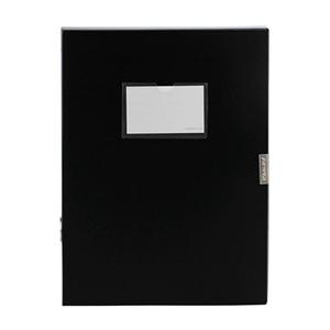 金得利 F38 档案盒 A4 3寸档案盒 黑色