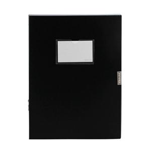 金得利 F18 档案盒 A4 1.5寸档案盒 黑色