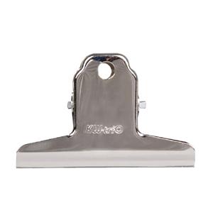 可得优 SC-100 山形票据夹 中 不锈钢镍色