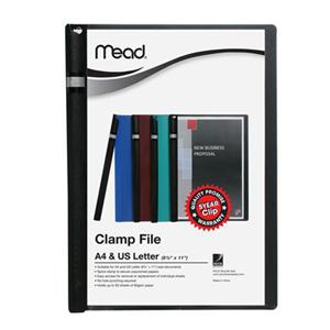 美德  M2003002 旋转式抽杆文件夹  A4 黑色