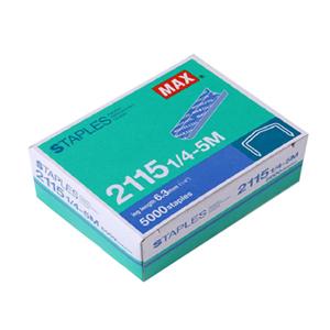 美克司 订书针,2115-1/4(5M) 单位:盒