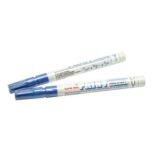 三菱 uni 记号笔, 油性记号笔 PX-21 0.8-1.2mm (蓝色)单支