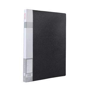 易达 86037 PP文件夹 A4 单强力夹 黑色