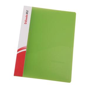 易达 舒适型 A4 单强力文件夹88016 透明绿