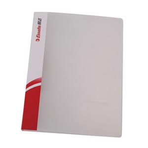 易达 舒适型 A4 单强力文件夹88018 透明色