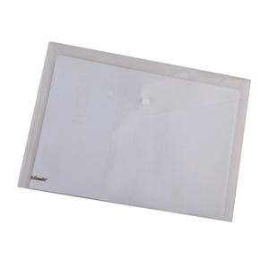 易达 70301 纽扣袋 A4 透明色 12个/包