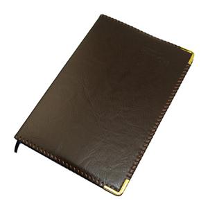 毅力达 A5 100页仿皮笔记本MA-1208(棕色)