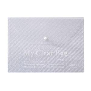 远生 US-W209  透明文件袋/纽扣袋 A4 白色