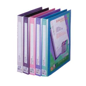 钊盛 A4 40页30孔活页资料册ZS-40B(黑)12个/盒