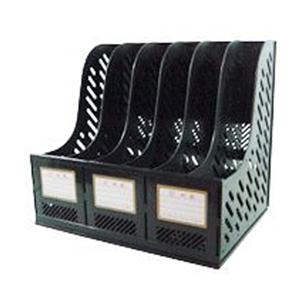 钊盛 六档文件栏3968(黑色)10个/盒
