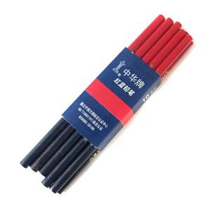 中华 120 红蓝铅笔  10支/包 红蓝色